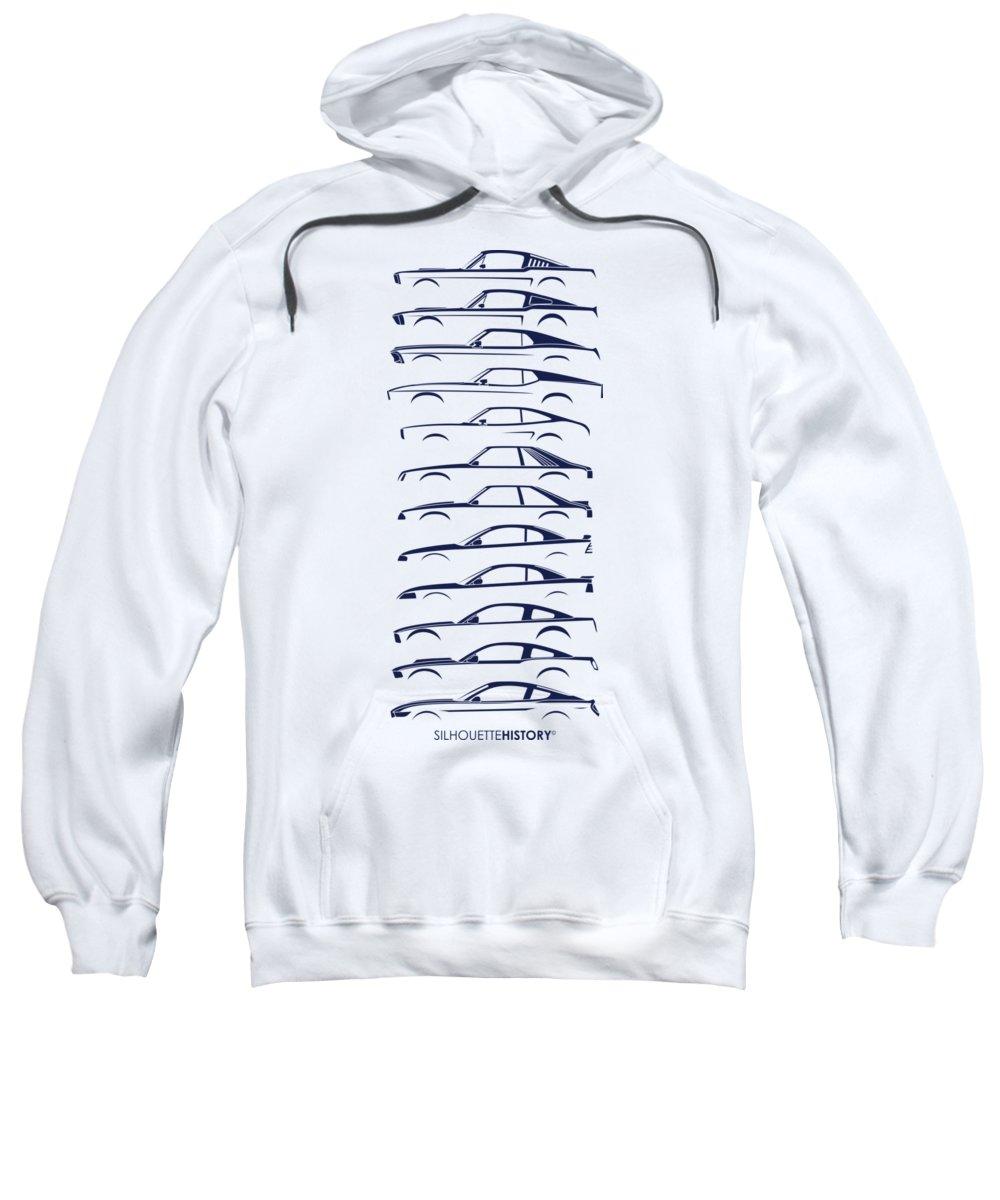 Mustang Hooded Sweatshirts T-Shirts
