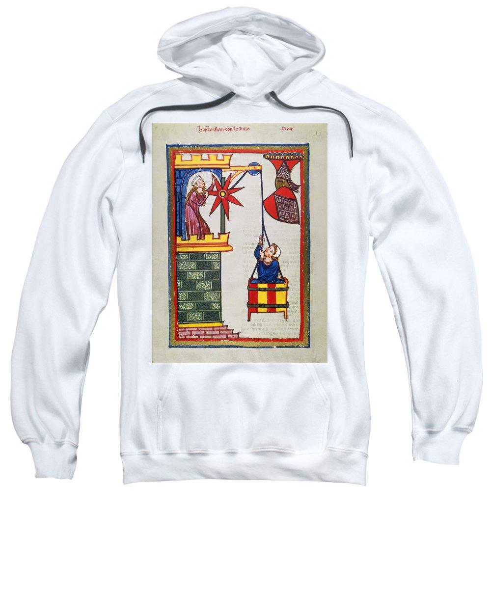 14th Century Sweatshirt featuring the photograph Heidelberg Lieder, 14th C by Granger