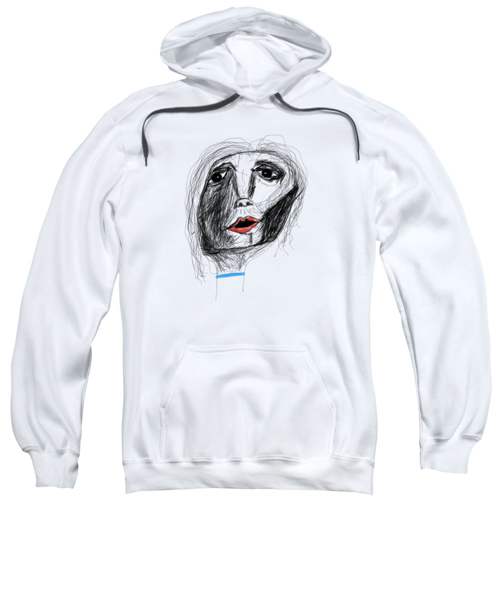 Apple Pencil Sweatshirt featuring the drawing Hope by Bill Owen