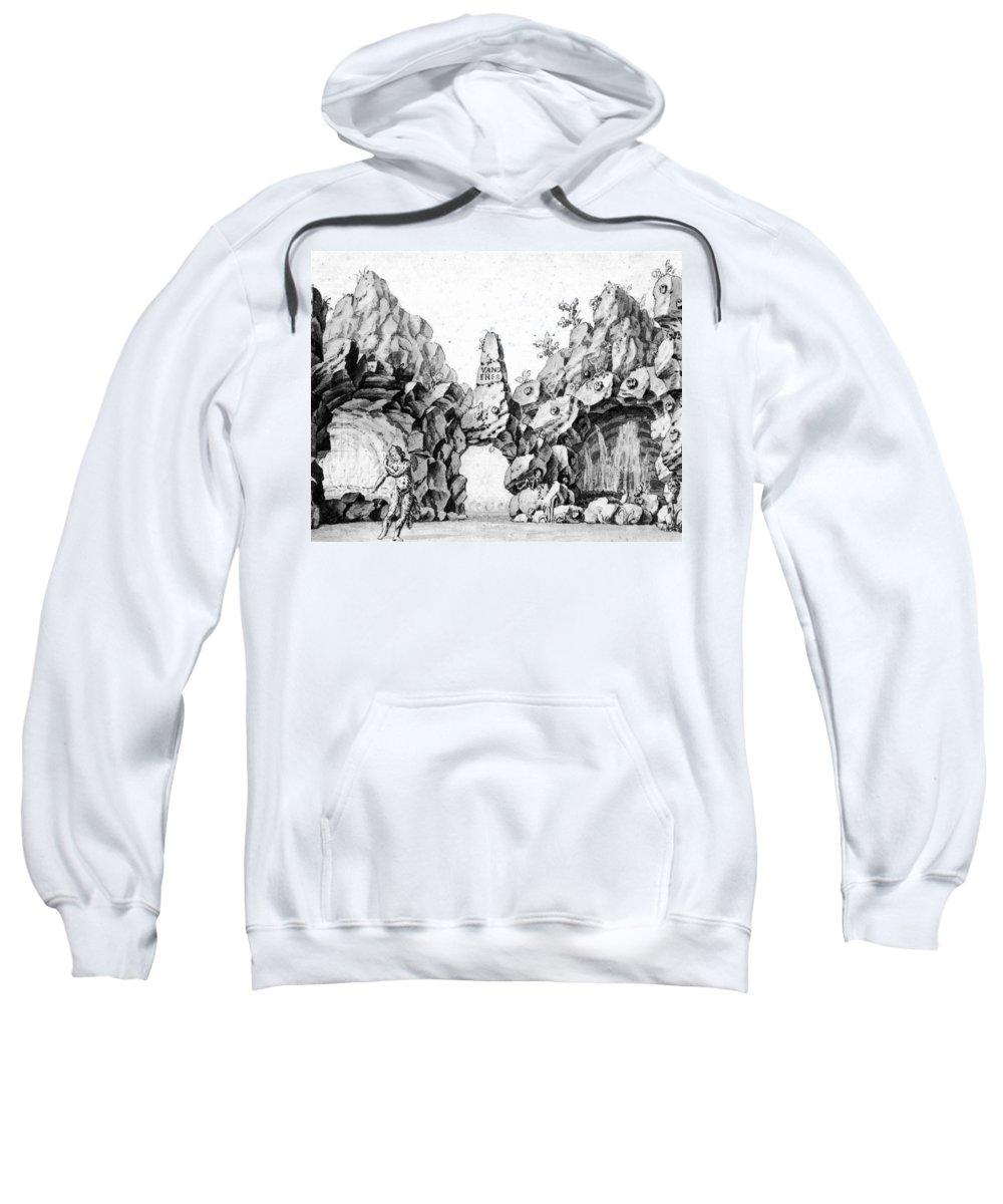 1791 Sweatshirt featuring the photograph Mozart: Magic Flute, 1791 by Granger