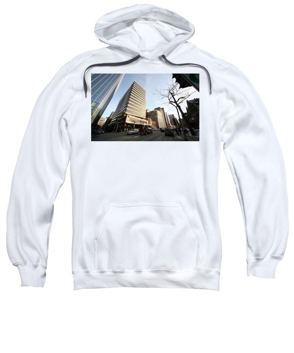 Place Sweatshirt featuring the digital art Place by Bert Mailer