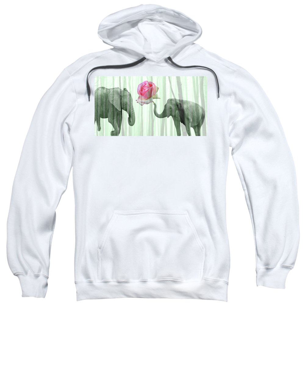 Love Sweatshirt featuring the photograph Love by Manfred Lutzius