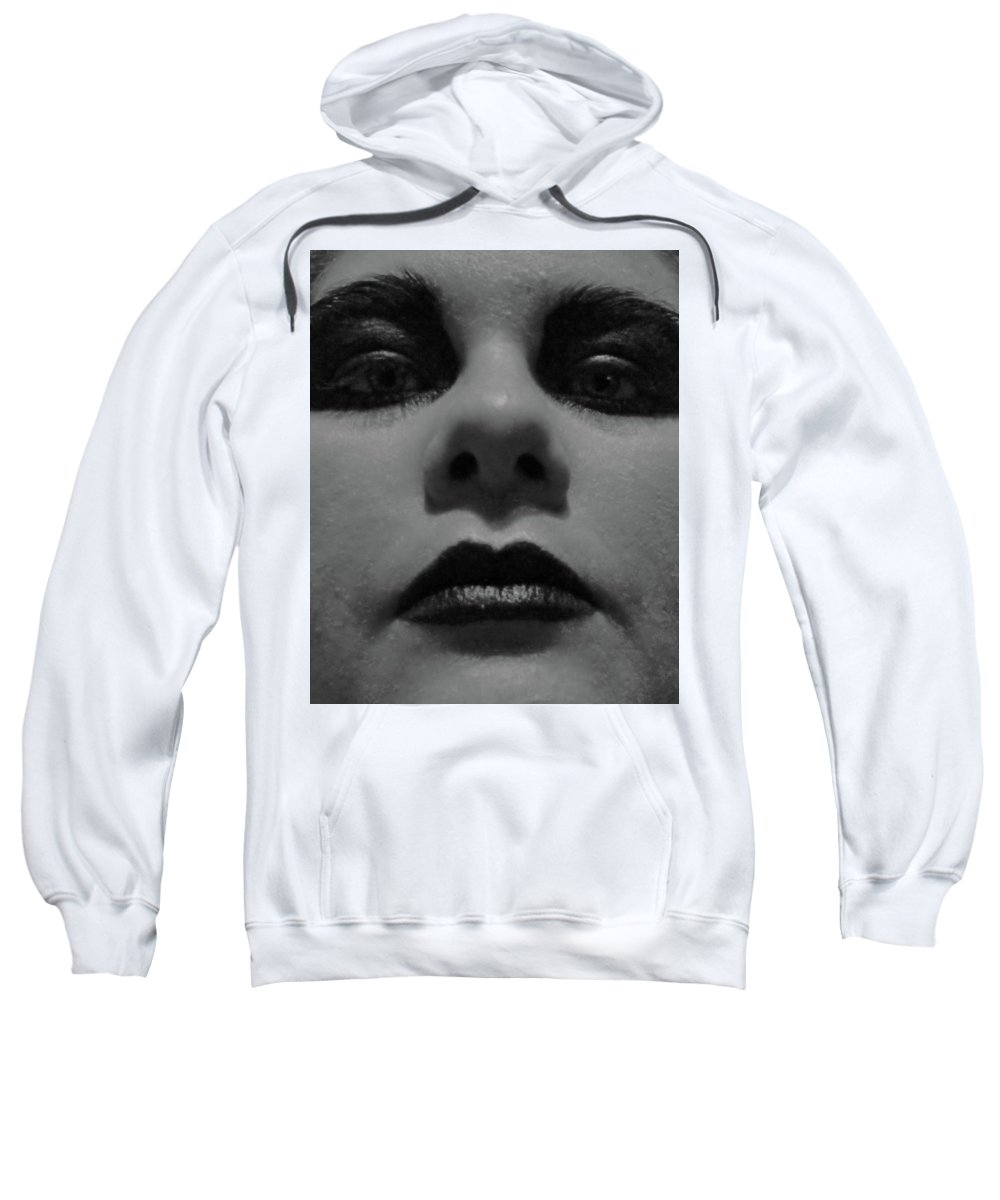Makeup Sweatshirt featuring the photograph Untitled by Alanna Apodaca