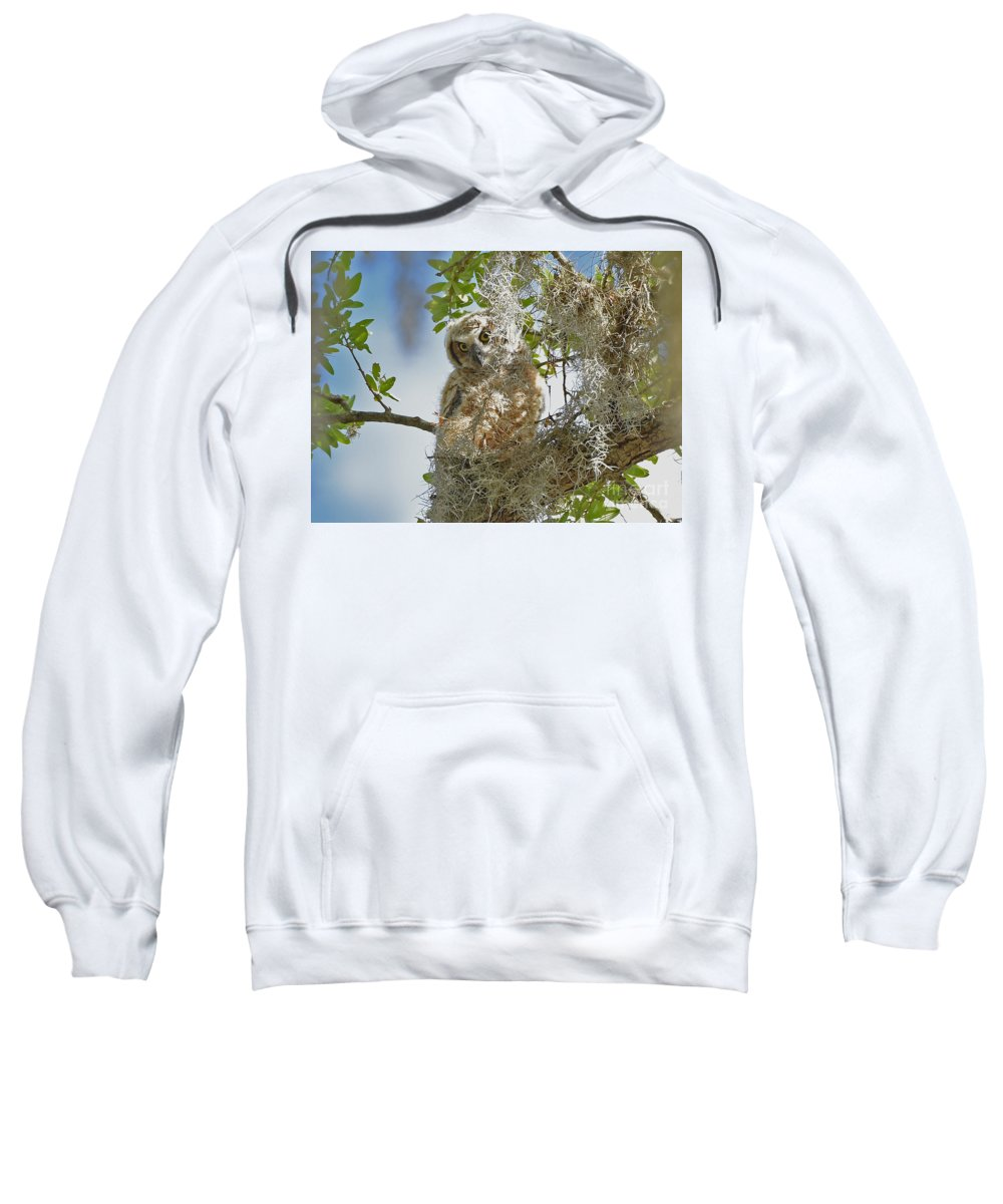 Sweatshirt featuring the photograph 4809 by Don Solari