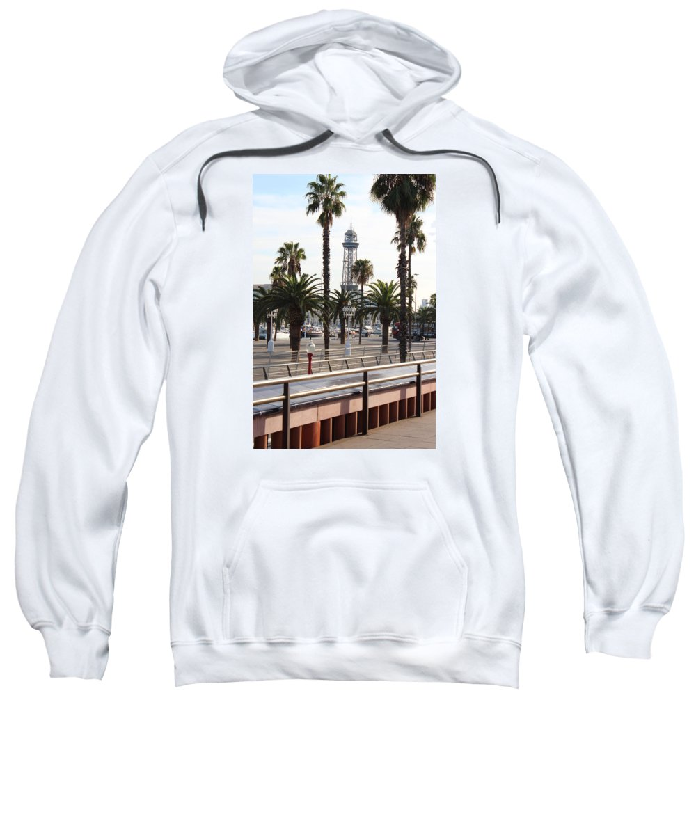 Sweatshirt featuring the photograph Barcelone by Pascalle Raymond