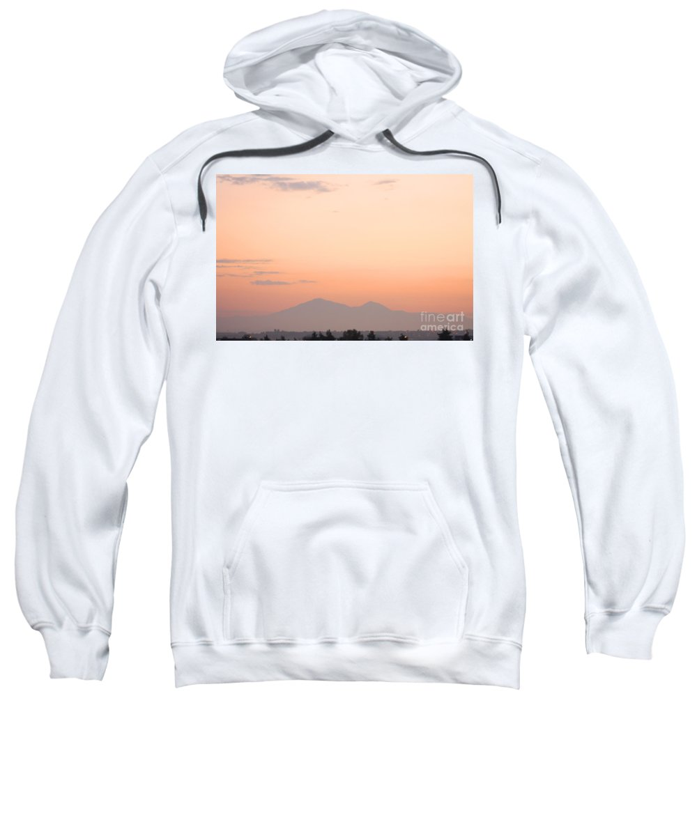 Sunset Sweatshirt featuring the photograph Sunset Moreno Valley Ca by Tommy Anderson
