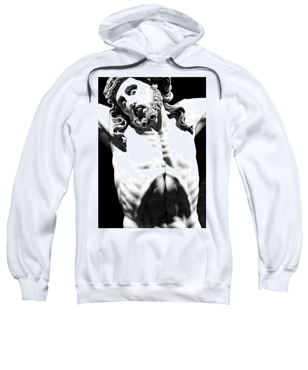 Jesus Sweatshirt featuring the photograph Unconditional Love by Munir Alawi
