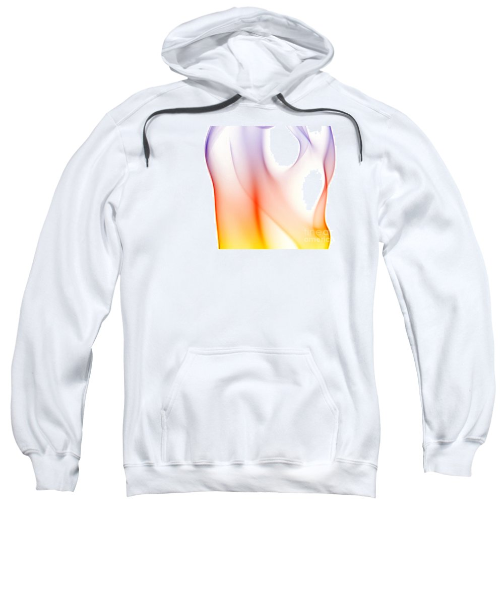 Abstract Sweatshirt featuring the digital art Abstract by Michal Boubin