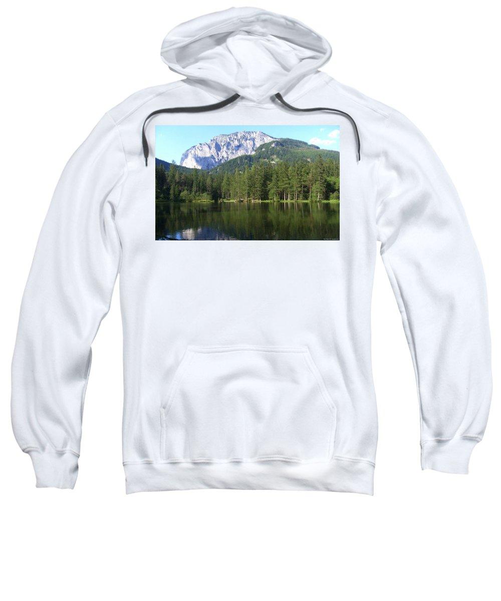 Mountain Sweatshirt featuring the digital art Mountain by Bert Mailer
