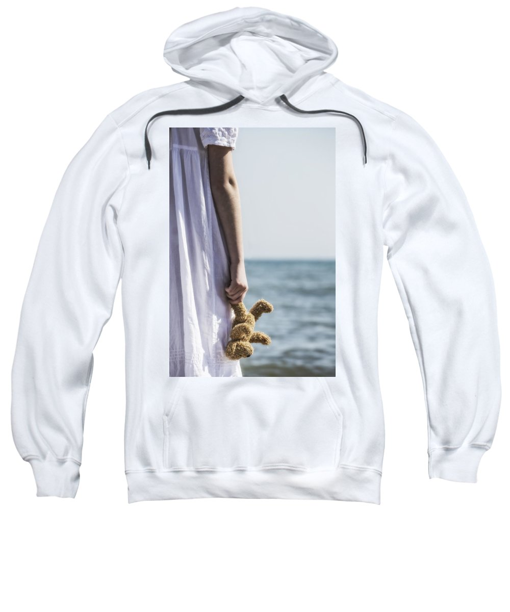 Girl Sweatshirt featuring the photograph Teddy Bear by Joana Kruse