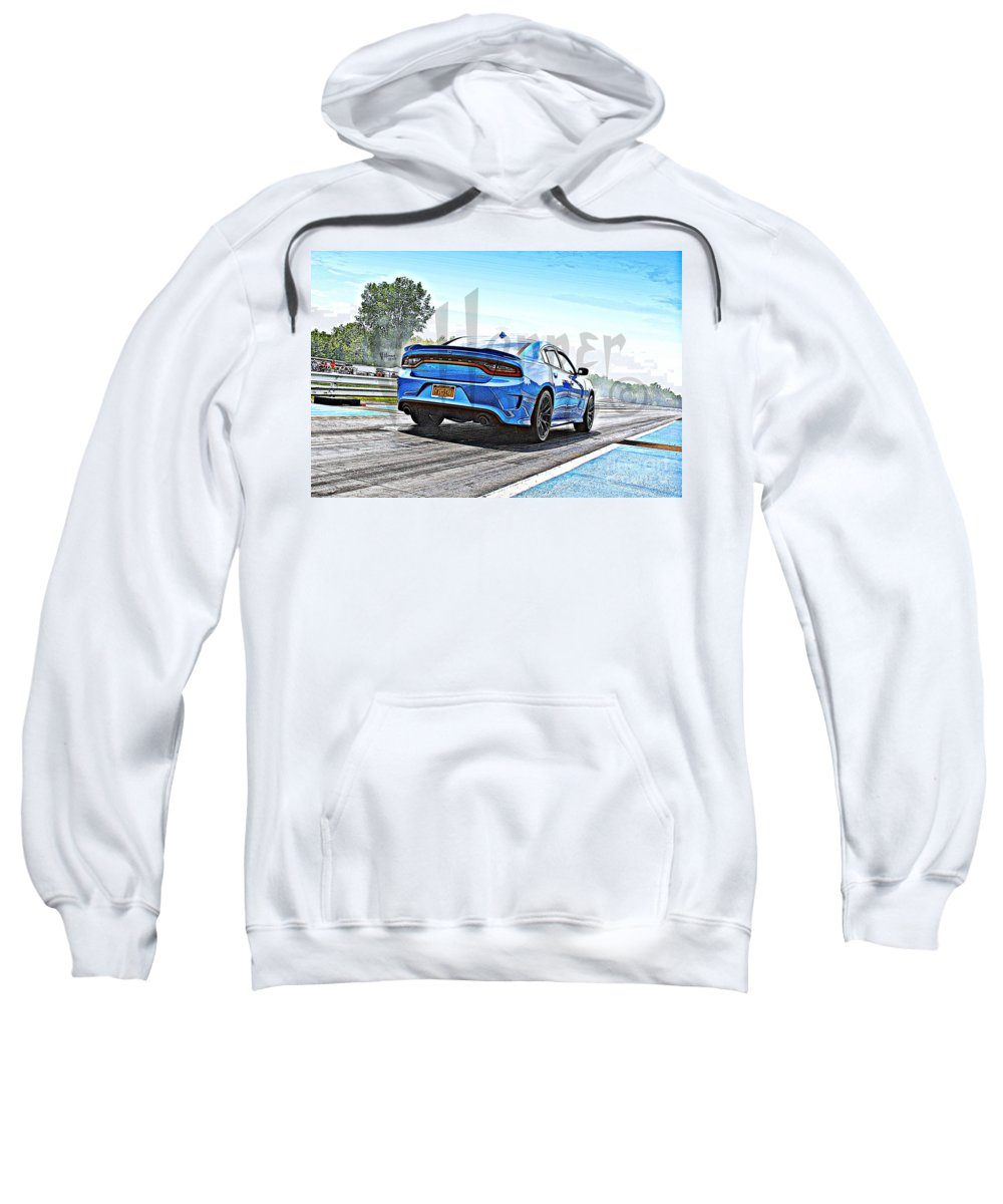 06-15-2015 Sweatshirt featuring the photograph 8613 06-15-2015 Esta Safety Park by Vicki Hopper