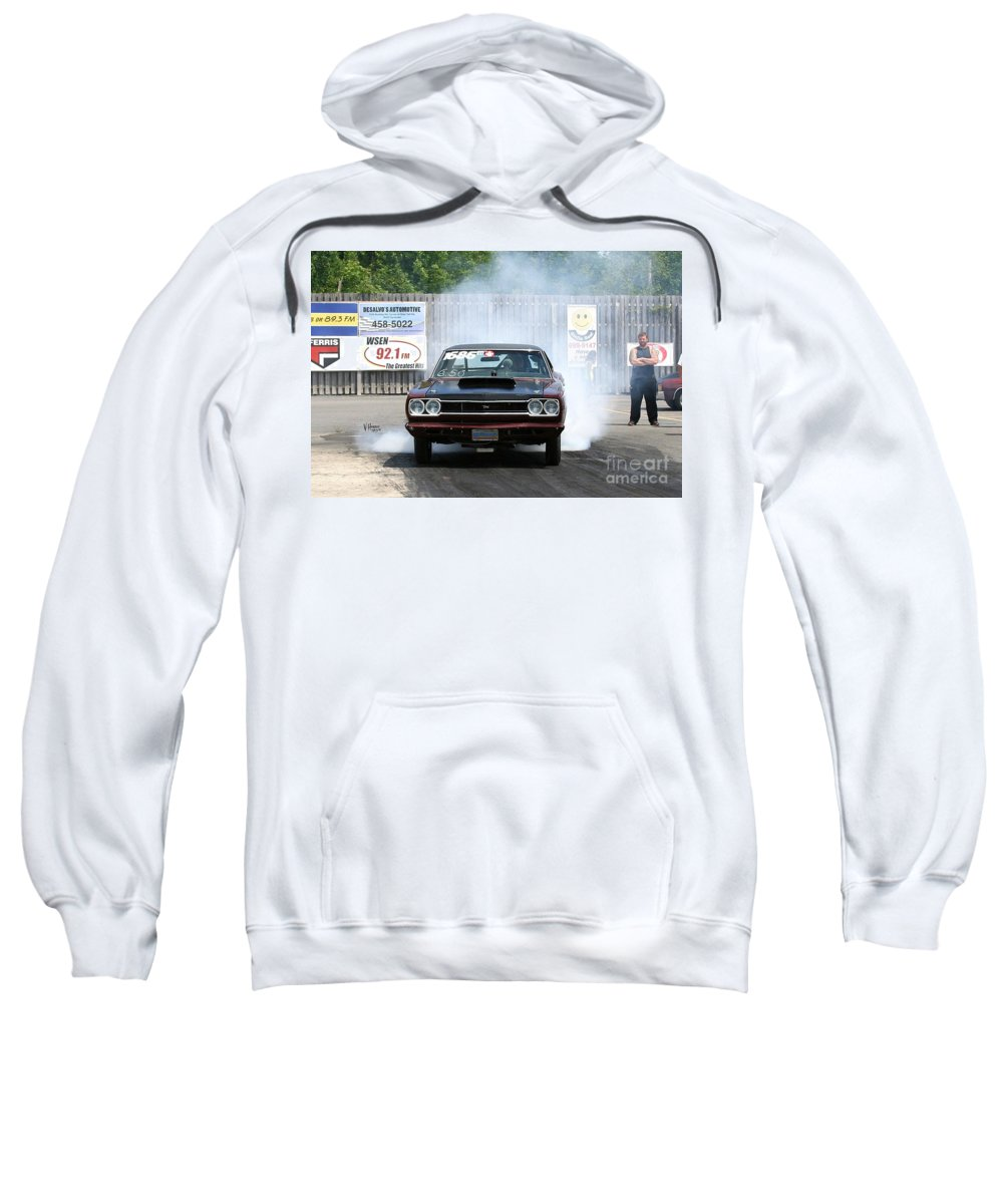 06-15-2015 Sweatshirt featuring the photograph 8688 06-15-2015 Esta Safety Park by Vicki Hopper