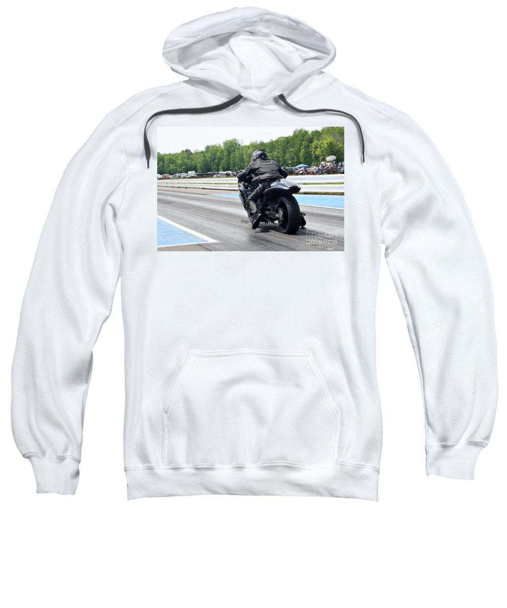06-15-2015 Sweatshirt featuring the photograph 8760 06-15-2015 Esta Safety Park by Vicki Hopper