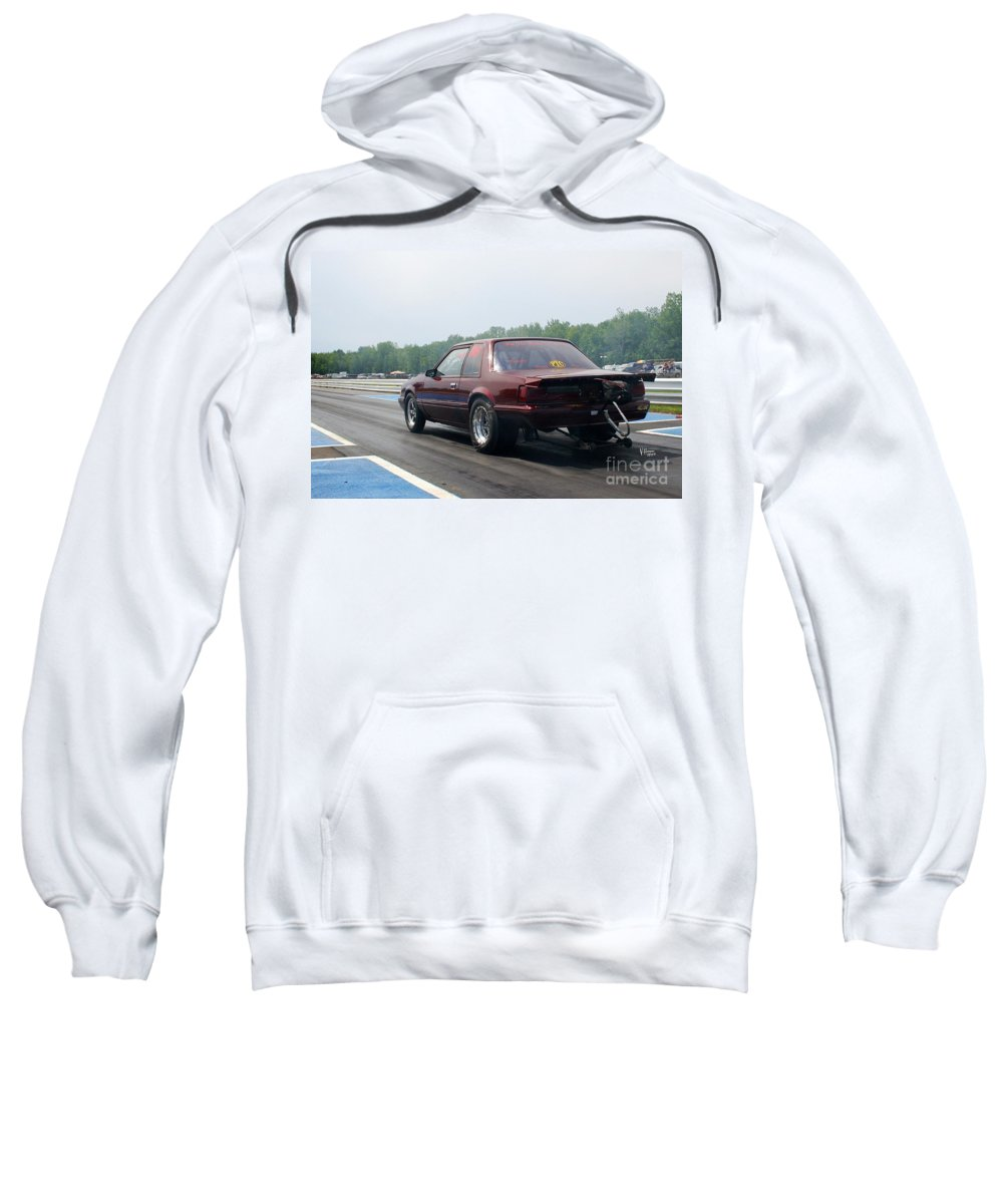 06-15-2015 Sweatshirt featuring the photograph 8914 06-15-2015 Esta Safety Park by Vicki Hopper