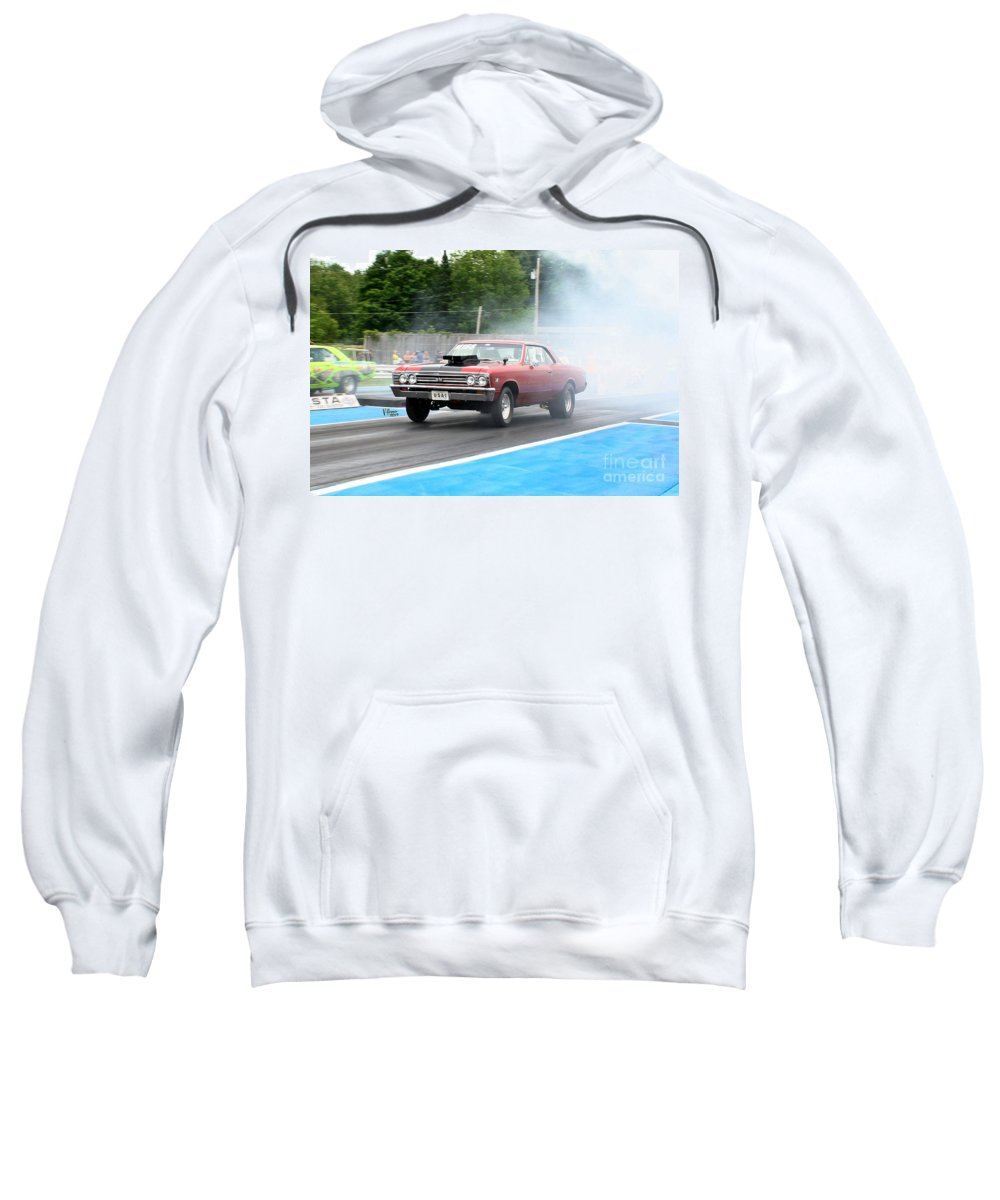 06-15-2015 Sweatshirt featuring the photograph 8931 06-15-2015 Esta Safety Park by Vicki Hopper