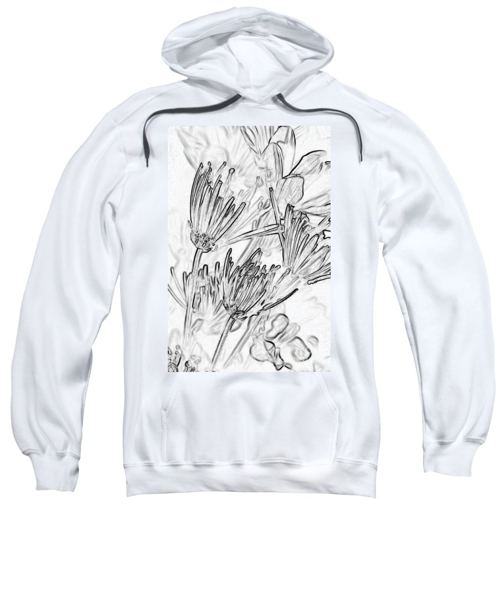 Pen And Ink Drawing Sweatshirts
