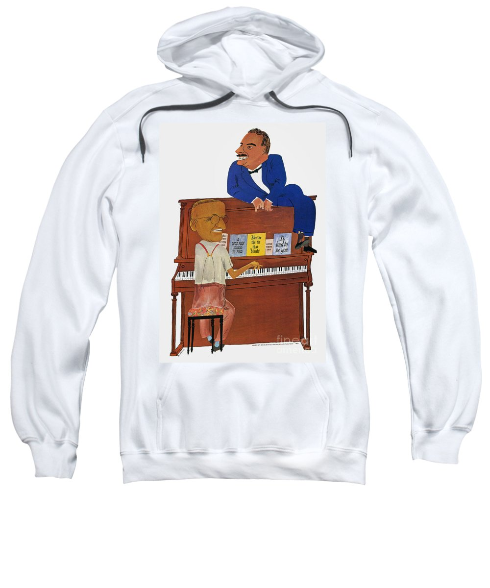 1948 Sweatshirt featuring the photograph A Good Man Is Hard To Find by Granger
