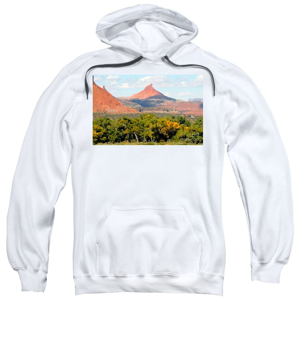 Fall Sweatshirt featuring the photograph A Touch Of Fall by David Lee Thompson