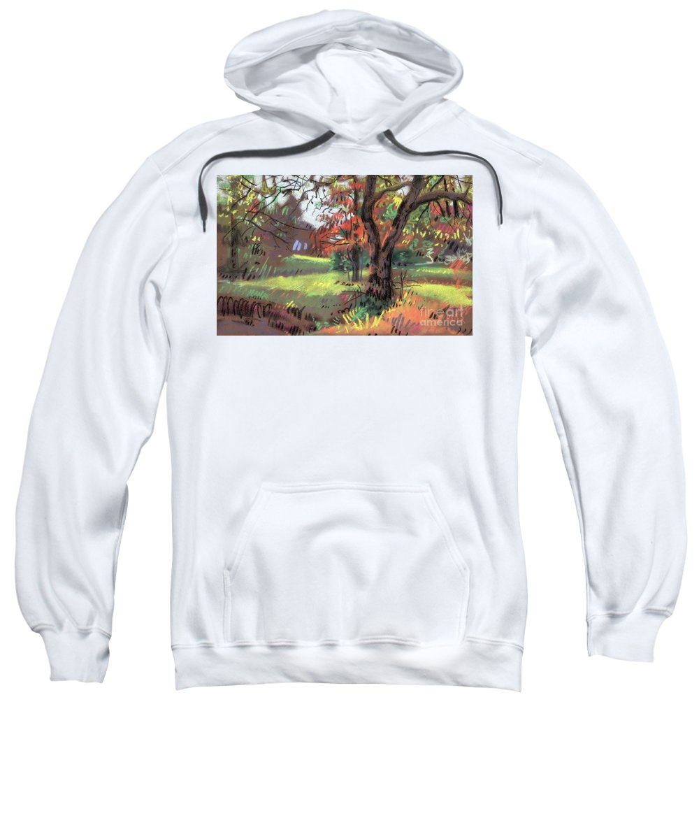 Pastel Sweatshirt featuring the painting Across The Creek II by Donald Maier