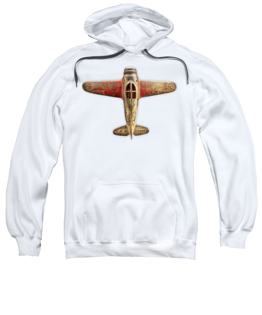 Metal Sweatshirt featuring the photograph Airplane Scrapper on Color Paper by YoPedro
