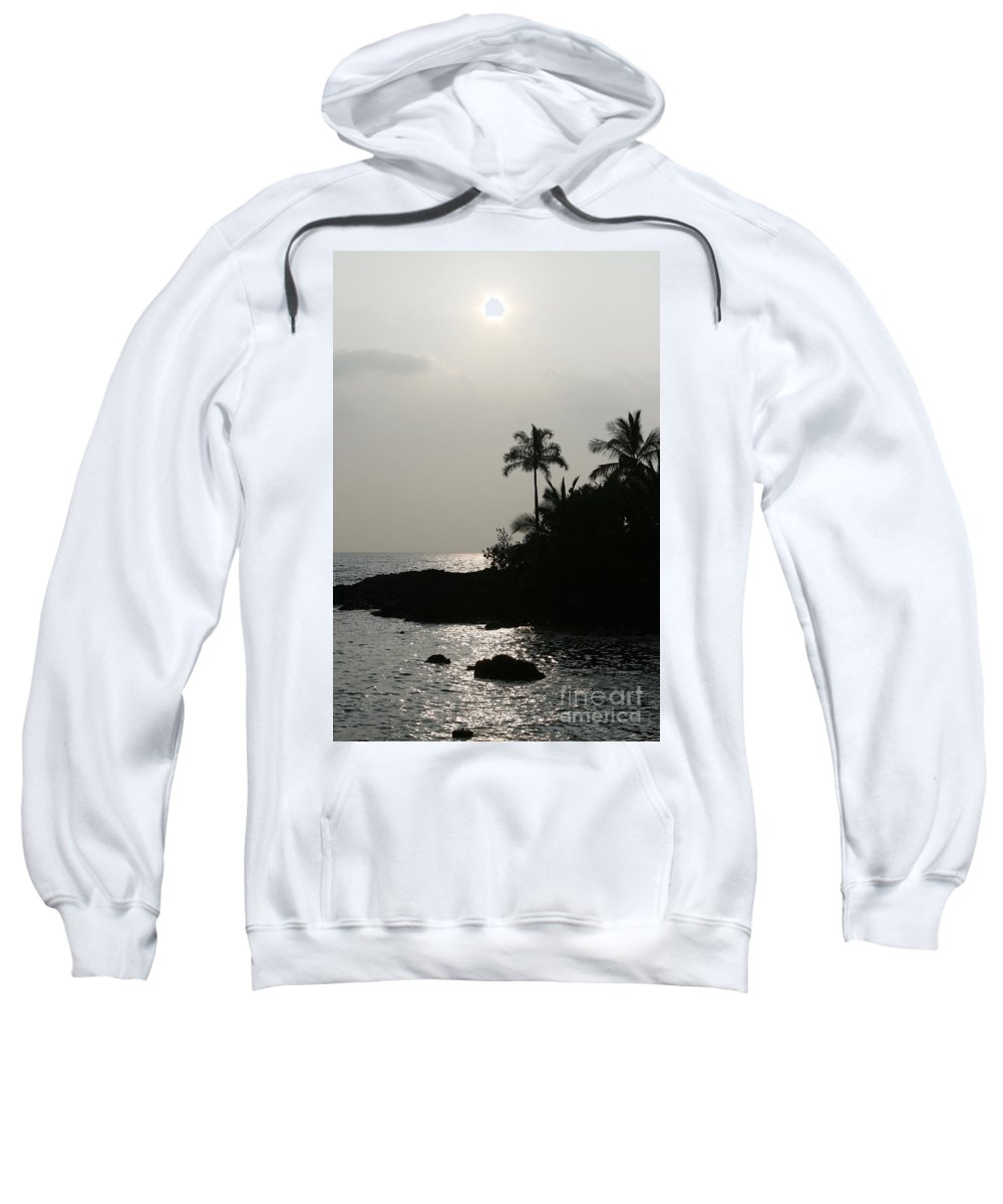 Aloha Sweatshirt featuring the photograph Alabaster Sunset Makena Landing Maui Hawaii by Sharon Mau