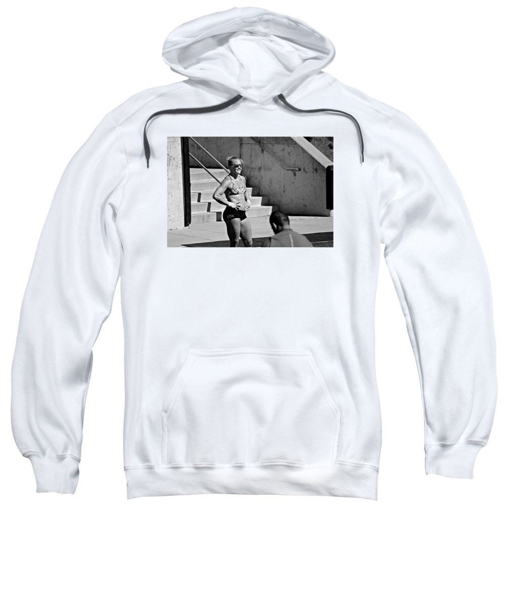 Sweatshirt featuring the photograph All Smiles// by Morgan Guge