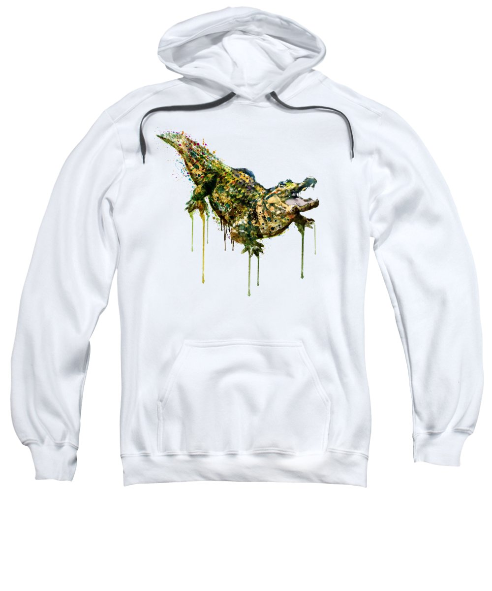 Alligator Hooded Sweatshirts T-Shirts