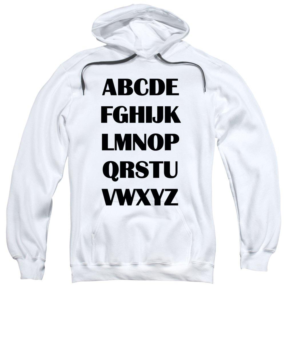 Abc Hooded Sweatshirts T-Shirts