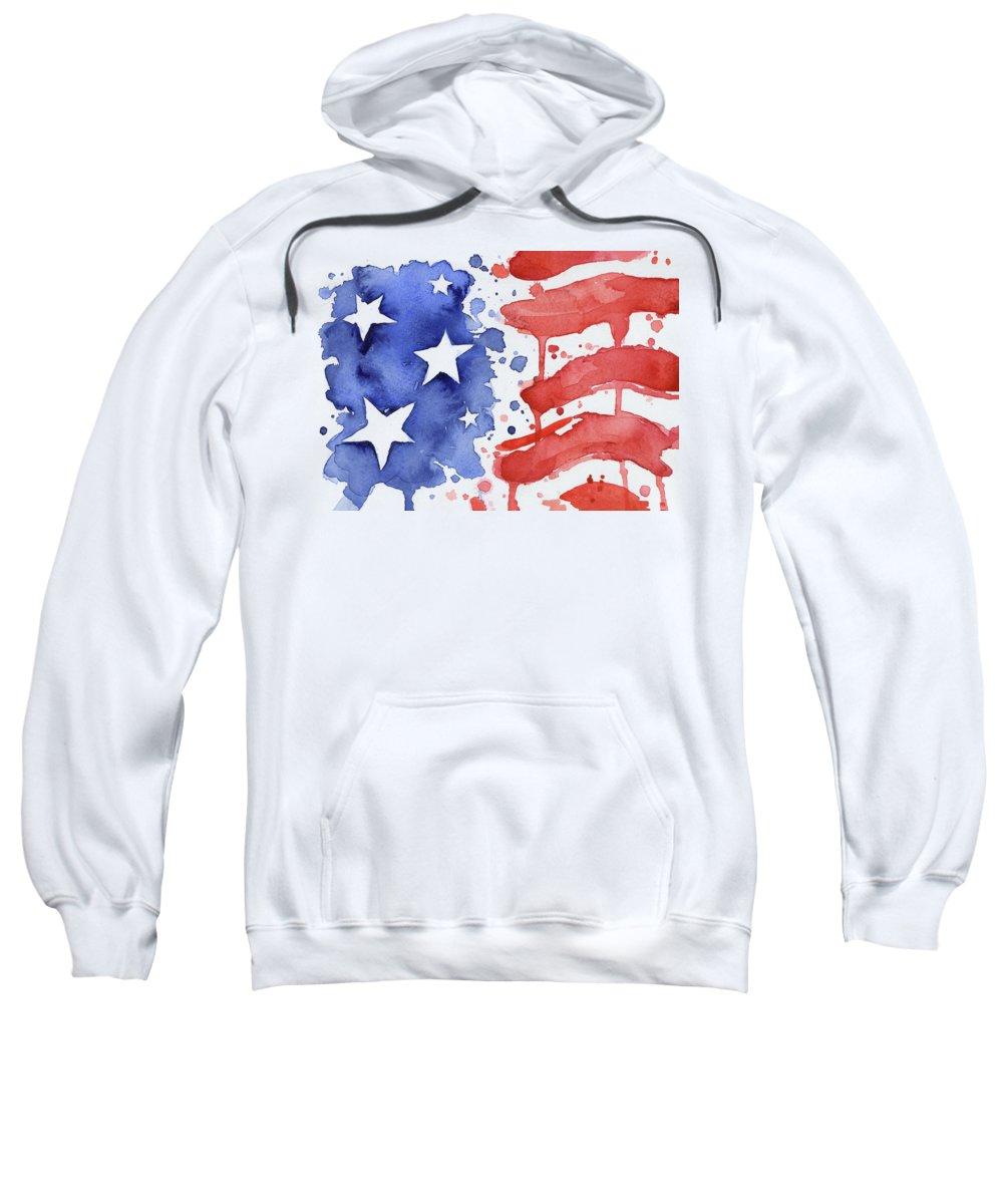 Stars And Stripes Hooded Sweatshirts T-Shirts