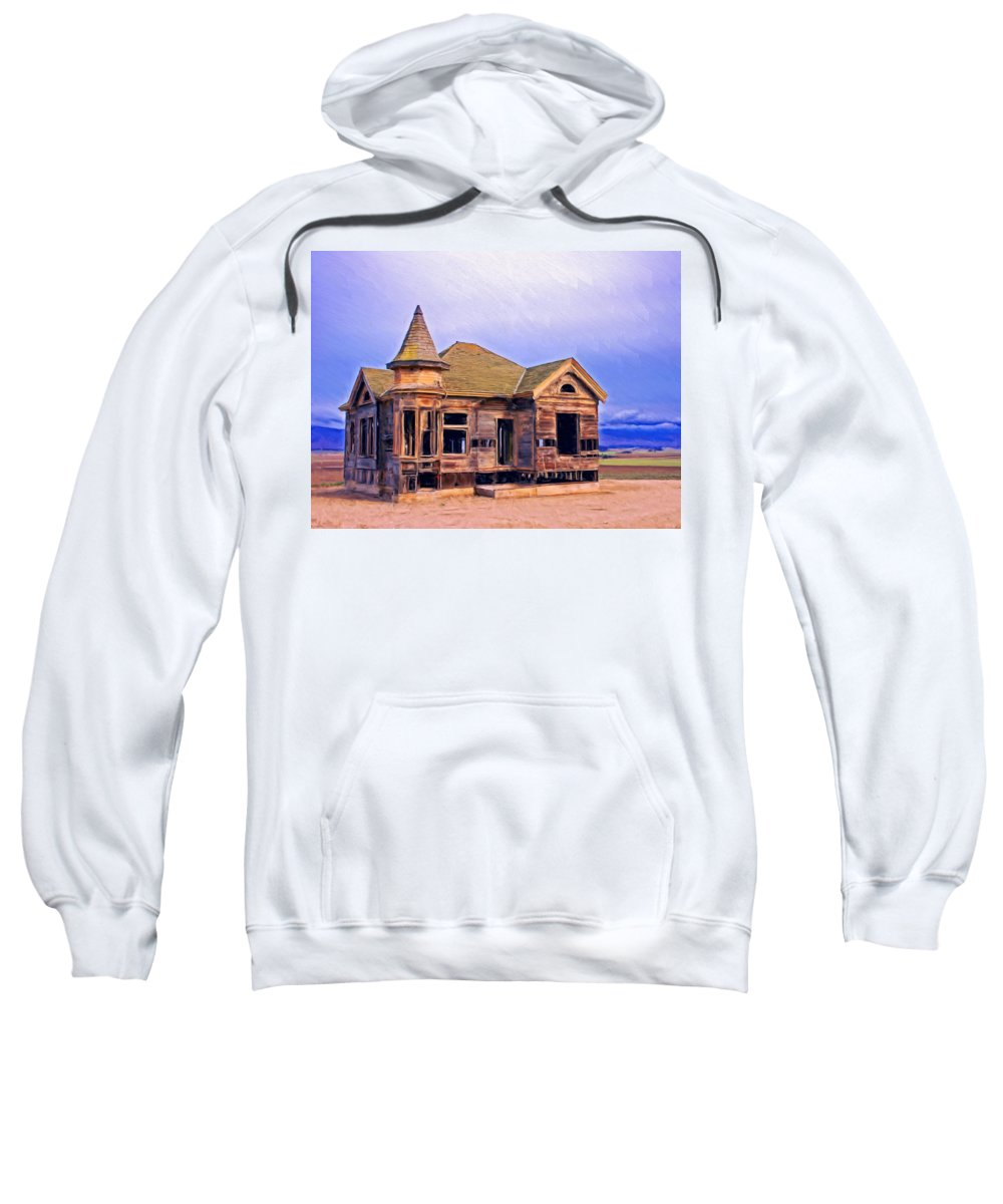 Old Home Sweatshirt featuring the painting Amnesia by Dominic Piperata