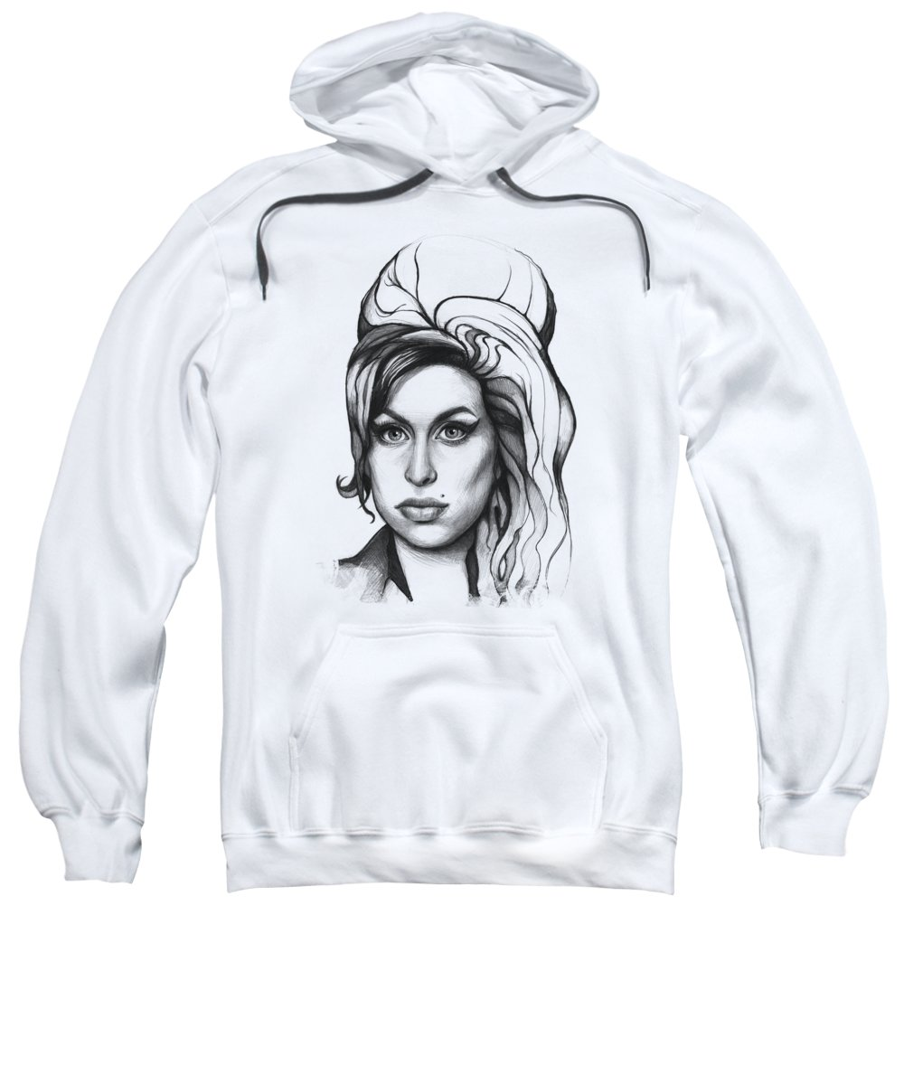 Graphite Pencil Hooded Sweatshirts T-Shirts