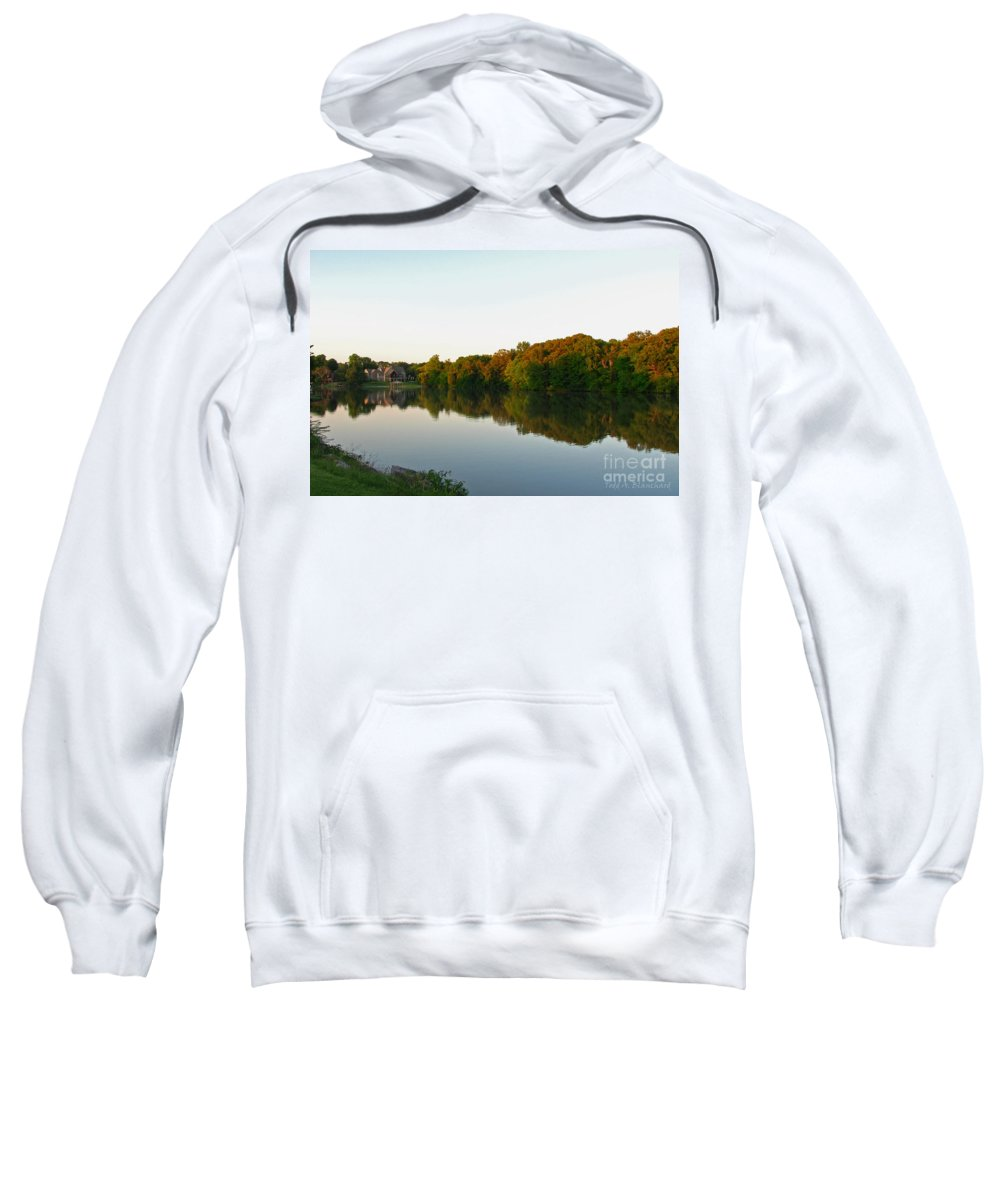 Landscape Sweatshirt featuring the photograph An Excellent Vantage Point by Todd Blanchard