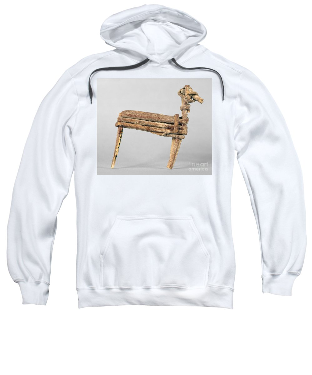 200 Sweatshirt featuring the photograph Anasazi Split-twig Figure by Granger