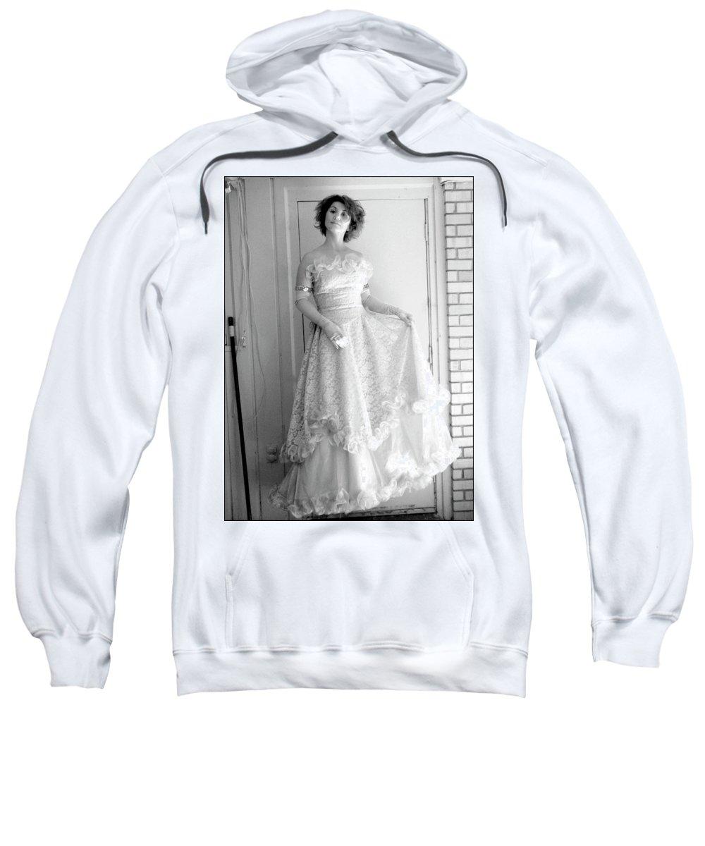 Angel Sweatshirt featuring the photograph Angel In My Backyard by James W Johnson