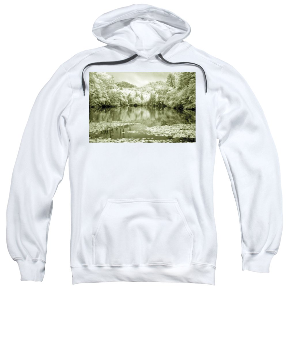 Infrared Sweatshirt featuring the photograph Another World by Alex Grichenko