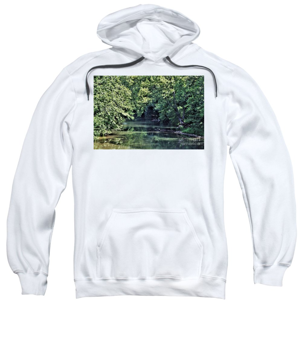 Antietam Creek Sweatshirt featuring the photograph Antietam Creek by Patti Whitten