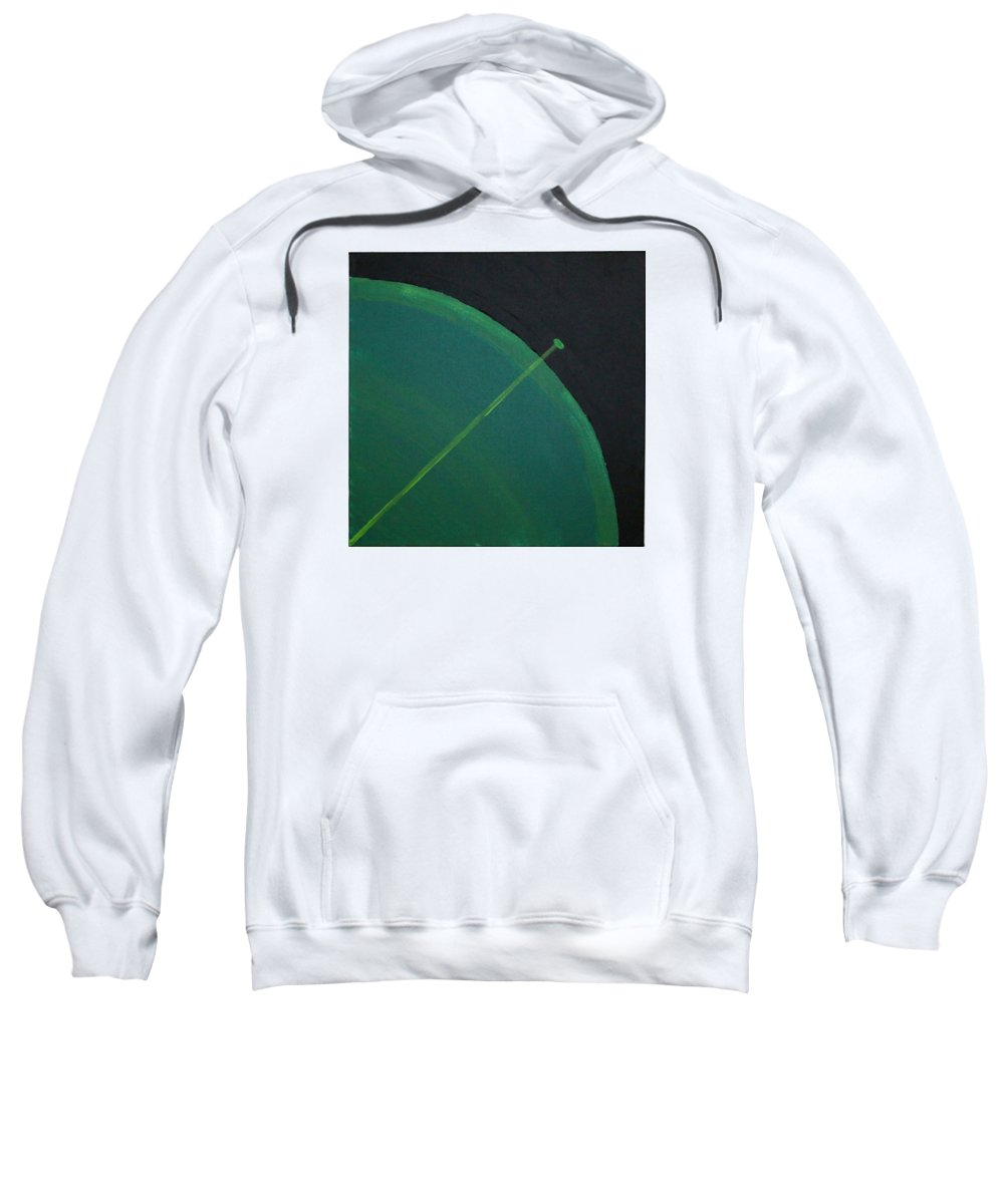 Landscape Sweatshirt featuring the painting Aquifer # 13 by Jonathan Perlstein
