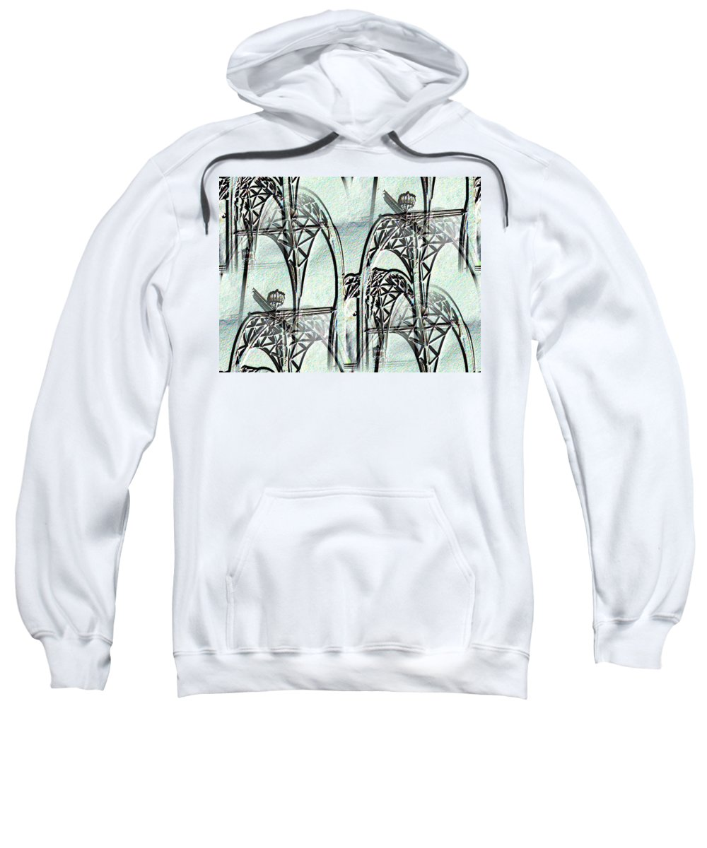 Seattle Sweatshirt featuring the photograph Arches 4 by Tim Allen