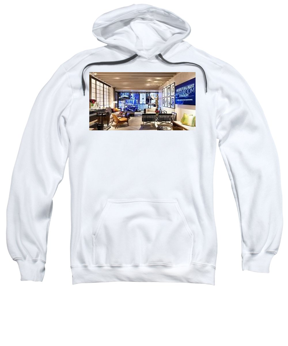 Architect Sweatshirt featuring the photograph Architect Firm In Los Angeles by Nsdesign