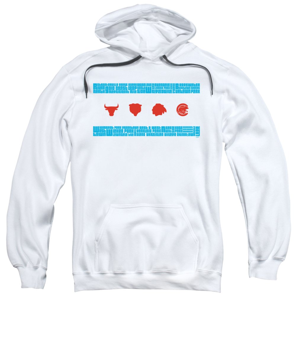 Chicago Hooded Sweatshirts T-Shirts