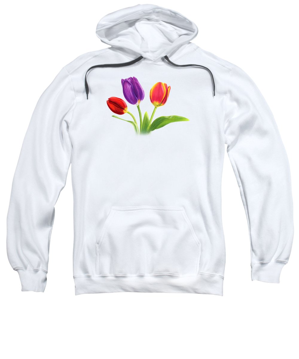 Tulip Hooded Sweatshirts T-Shirts