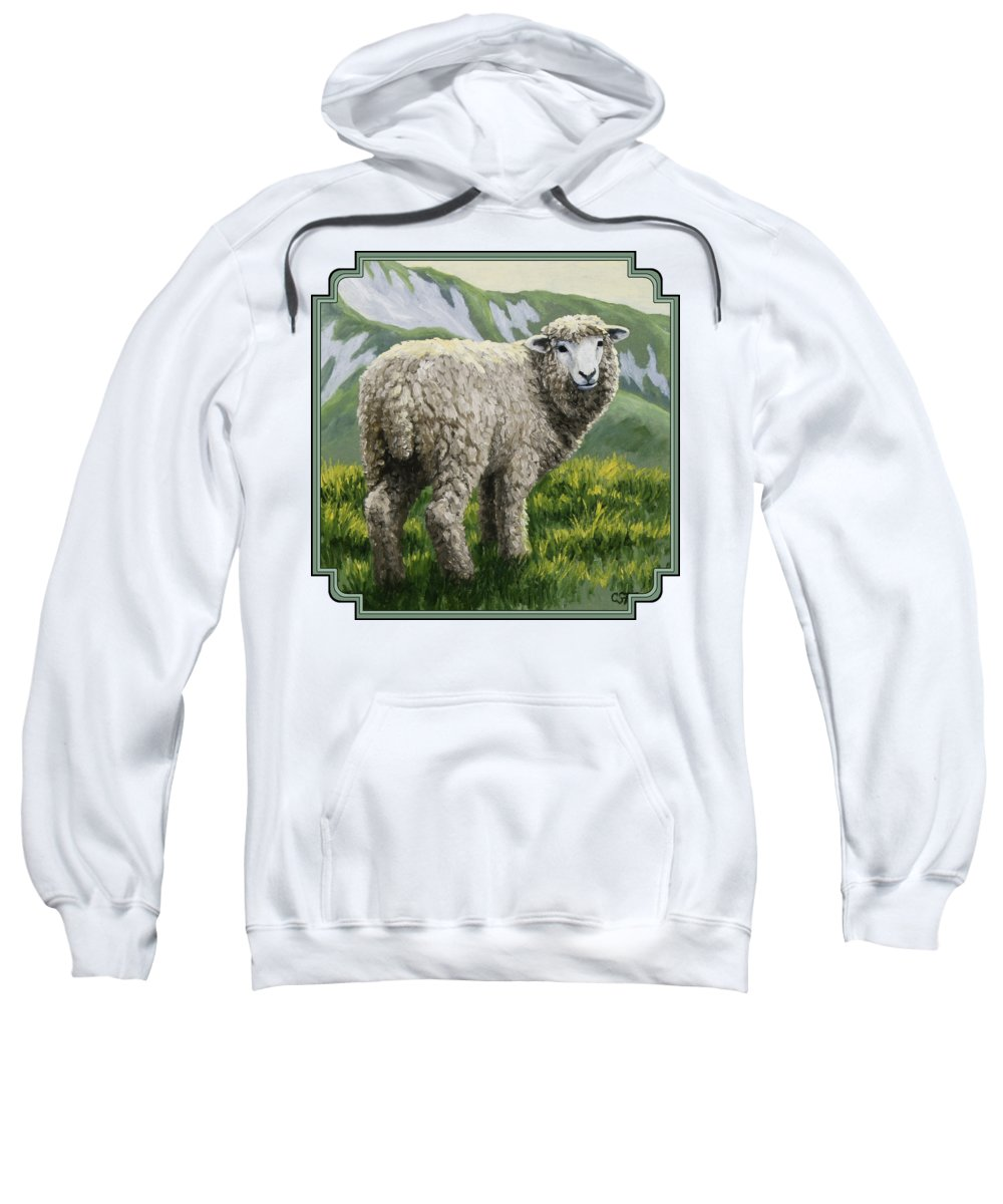 Sheep Hooded Sweatshirts T-Shirts