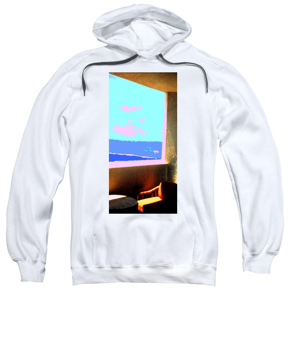 Aruba Sweatshirt featuring the photograph Aruba by Ian MacDonald