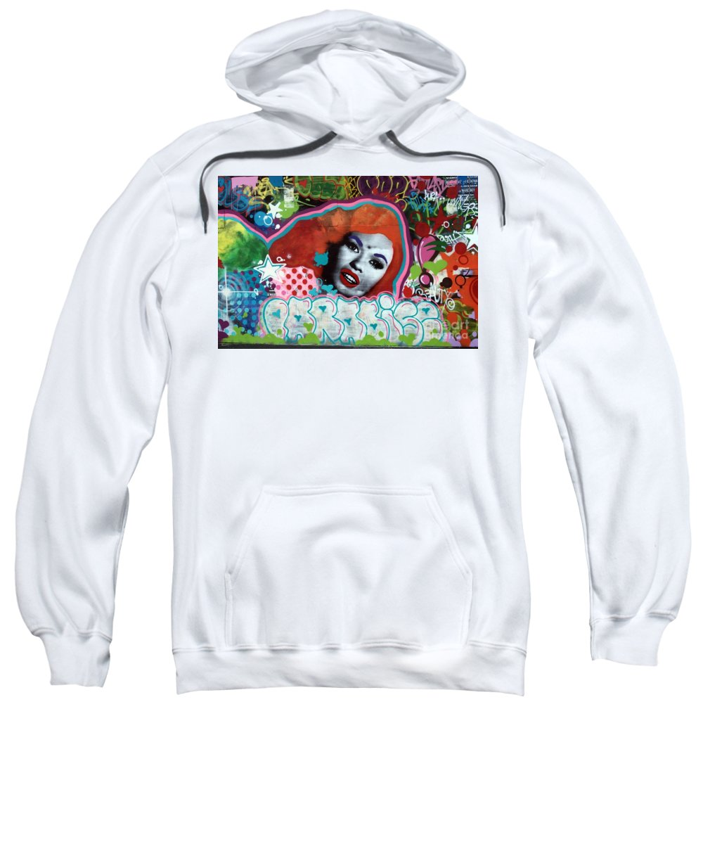 Sweatshirt featuring the photograph Asbury Park New Jersey by Robert Scifo