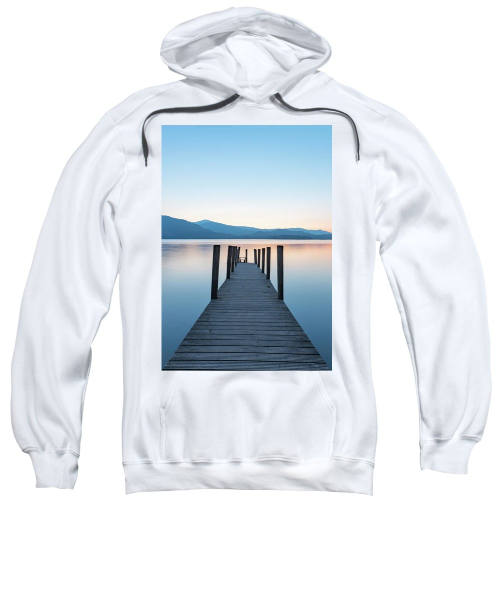 Lake District Sweatshirt featuring the photograph Ashness Bridge by Mark Mc neill