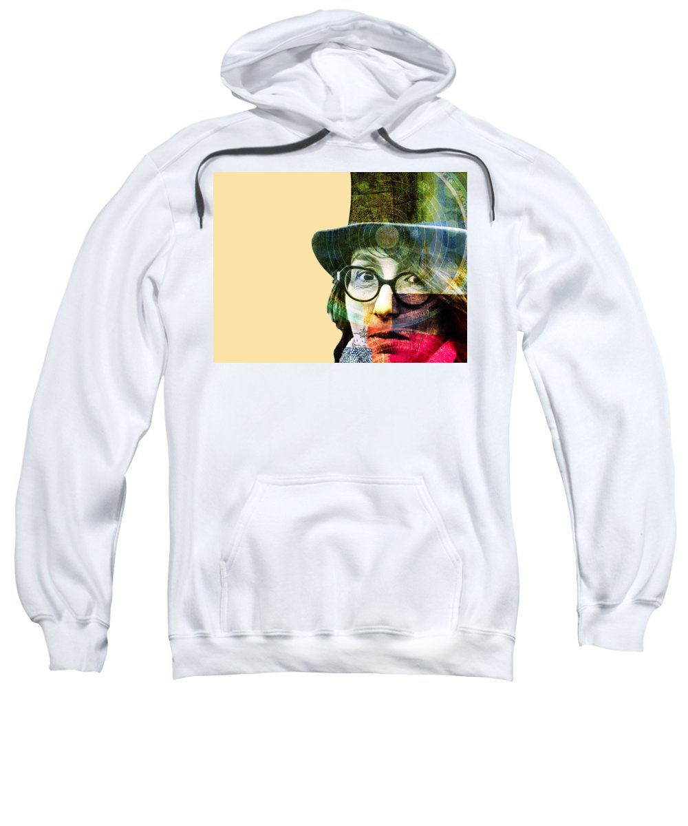 Astrologer Sweatshirt featuring the photograph Astrologer by Dominic Piperata