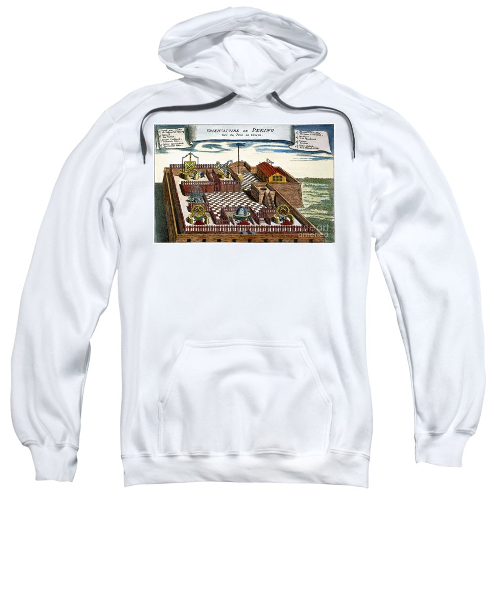 1698 Sweatshirt featuring the photograph Astronomical Observatory by Granger
