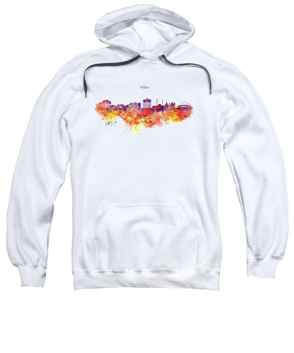 Greece Hooded Sweatshirts T-Shirts