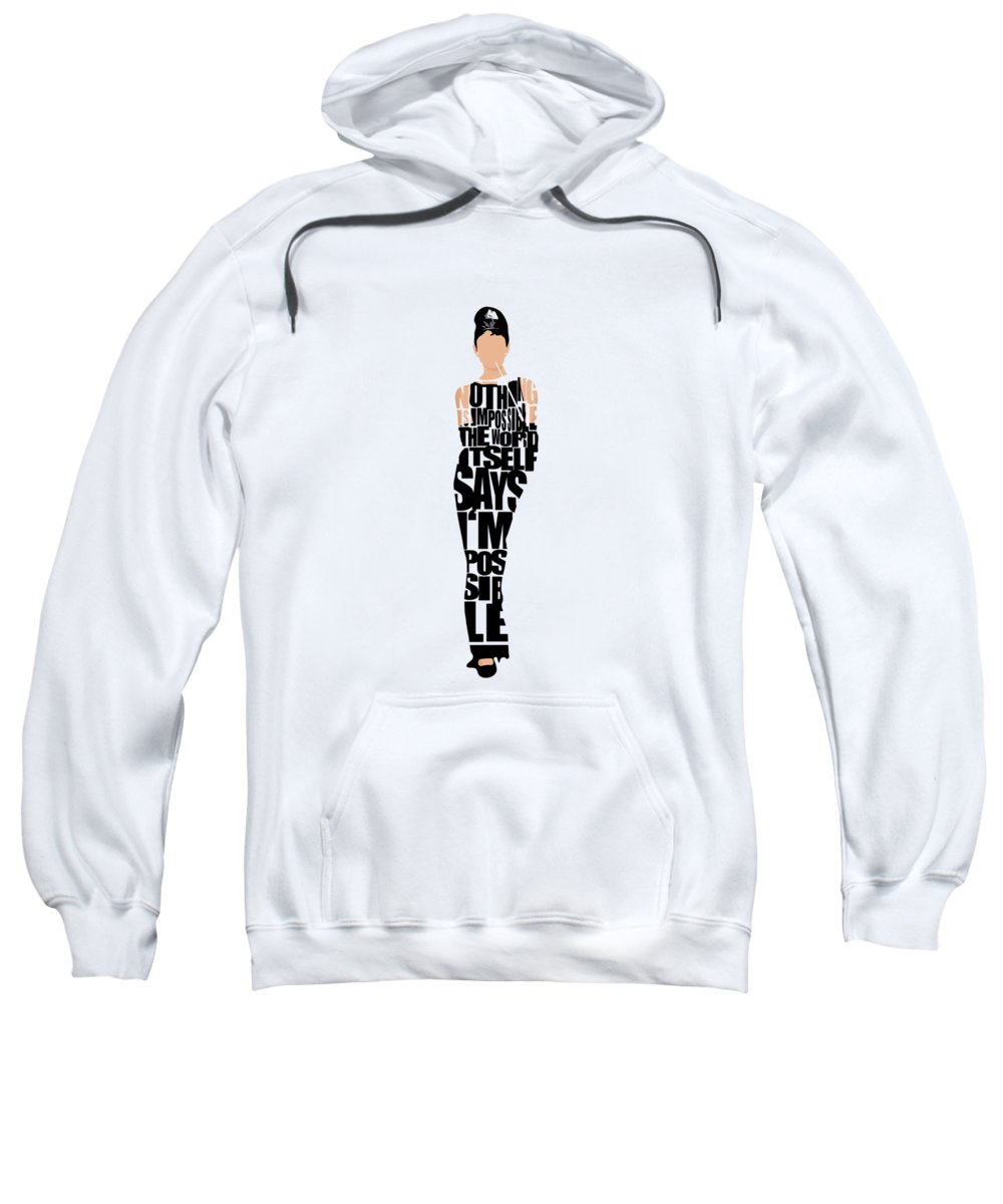 Audrey Hepburn Hooded Sweatshirts T-Shirts