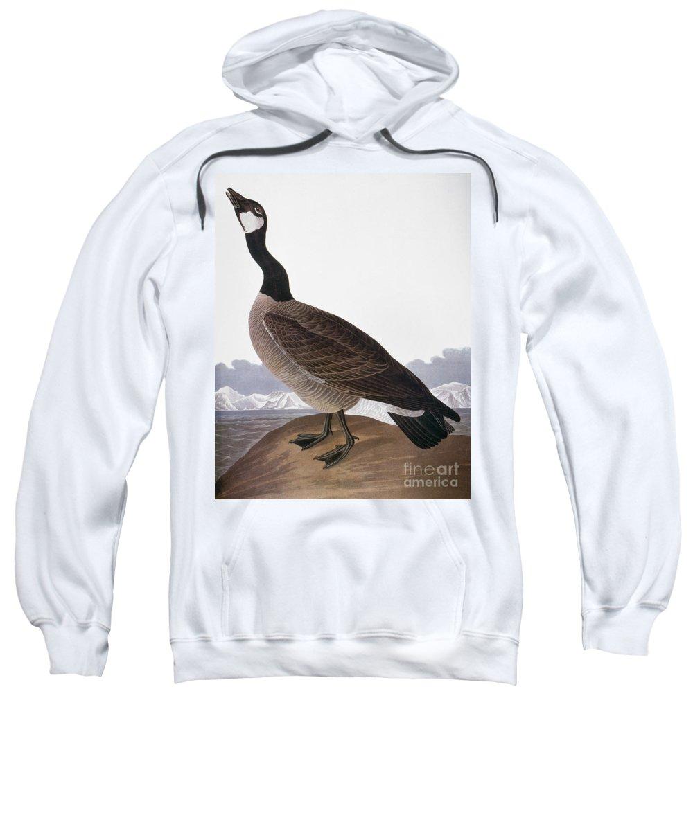 1827 Sweatshirt featuring the photograph Audubon: Goose, 1827 by Granger